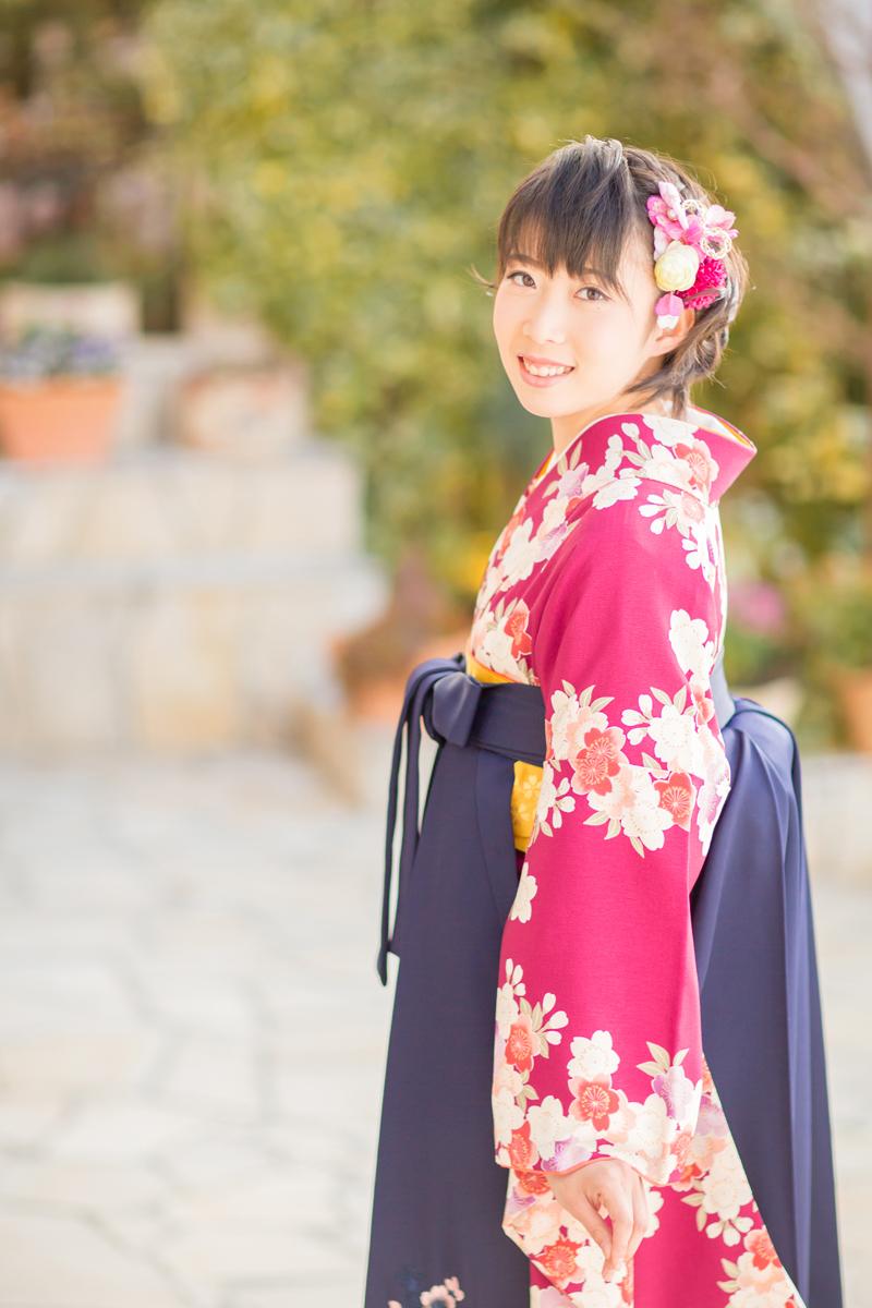 卒業式,袴,レンタル,ヘアスタイル