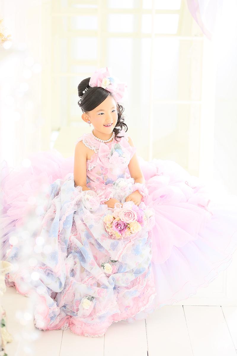 七五三,七歳,ドレス