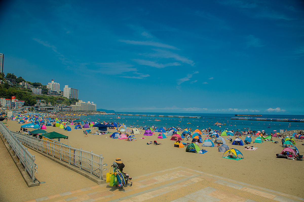 夏休み,海