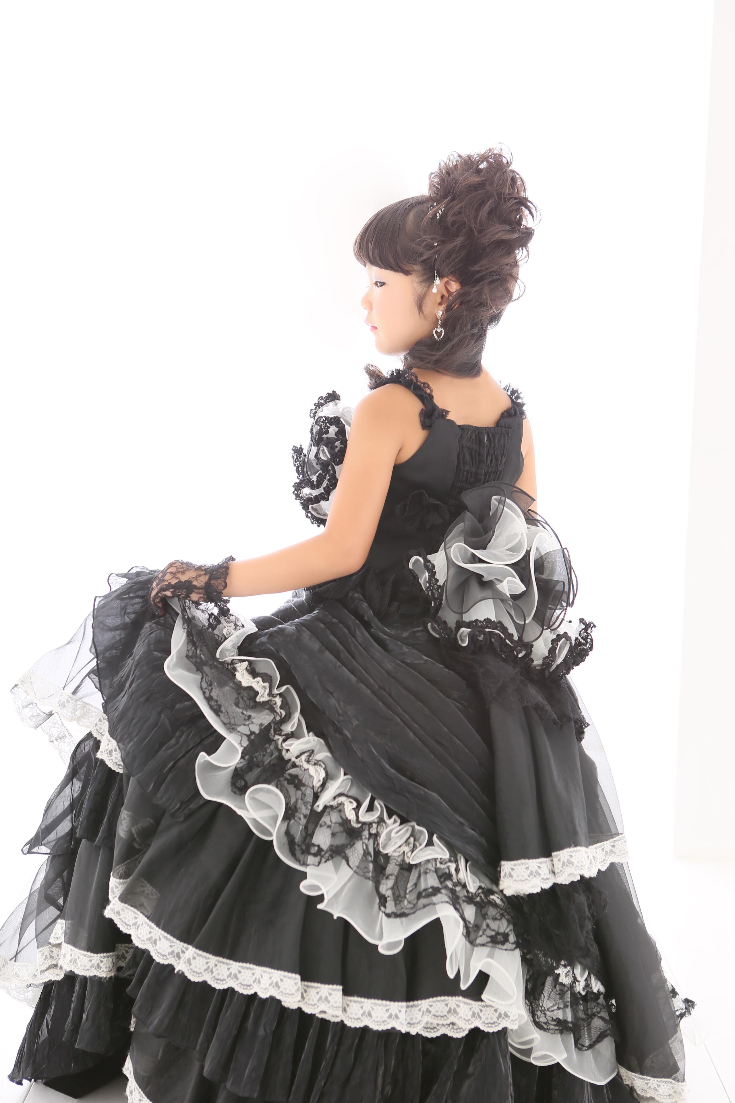 七五三、七歳、ドレス