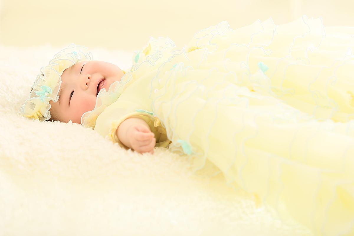 赤ちゃん,お宮参り,ベビードレス
