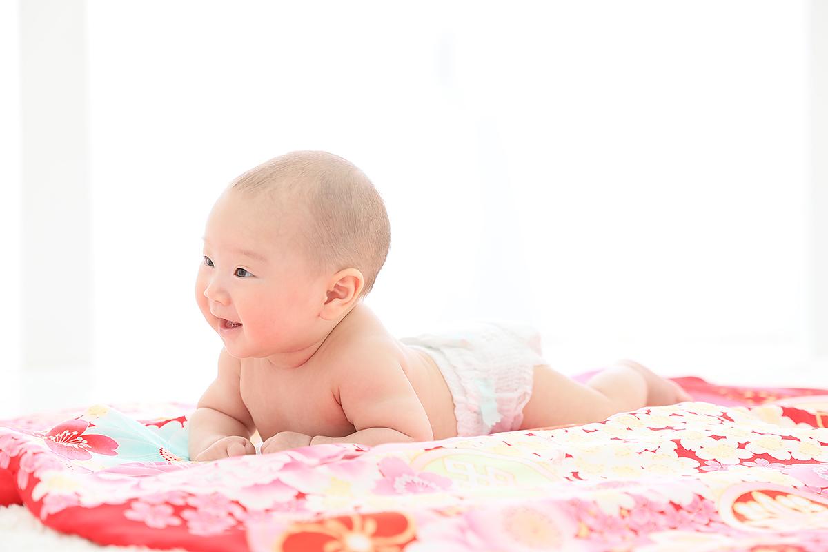 お宮参り 赤ちゃん 記念写真