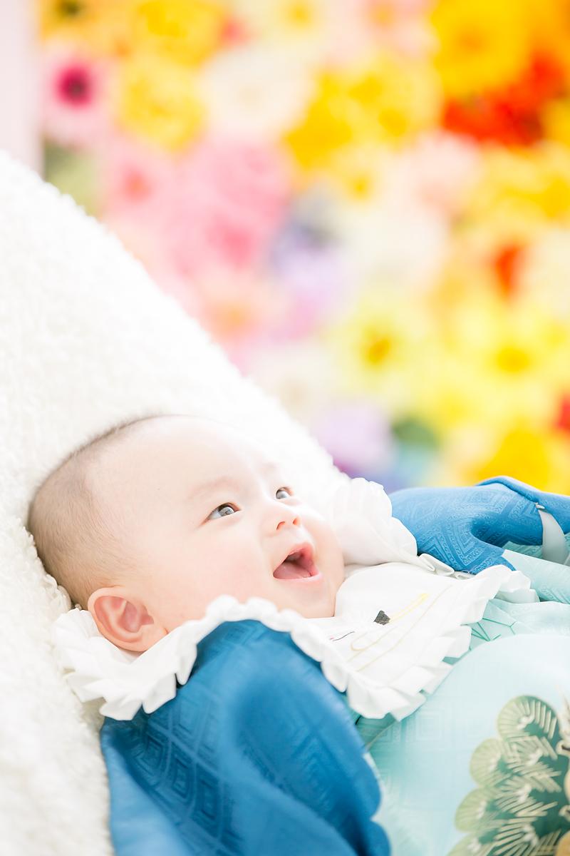 お宮参り,赤ちゃん,記念写真