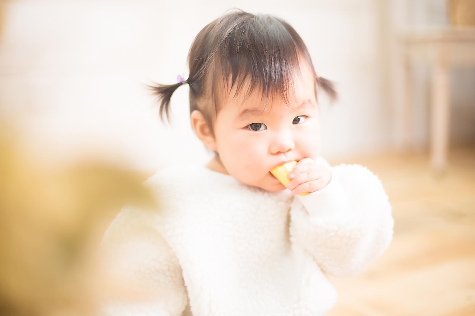 赤ちゃん 一歳記念 記念写真