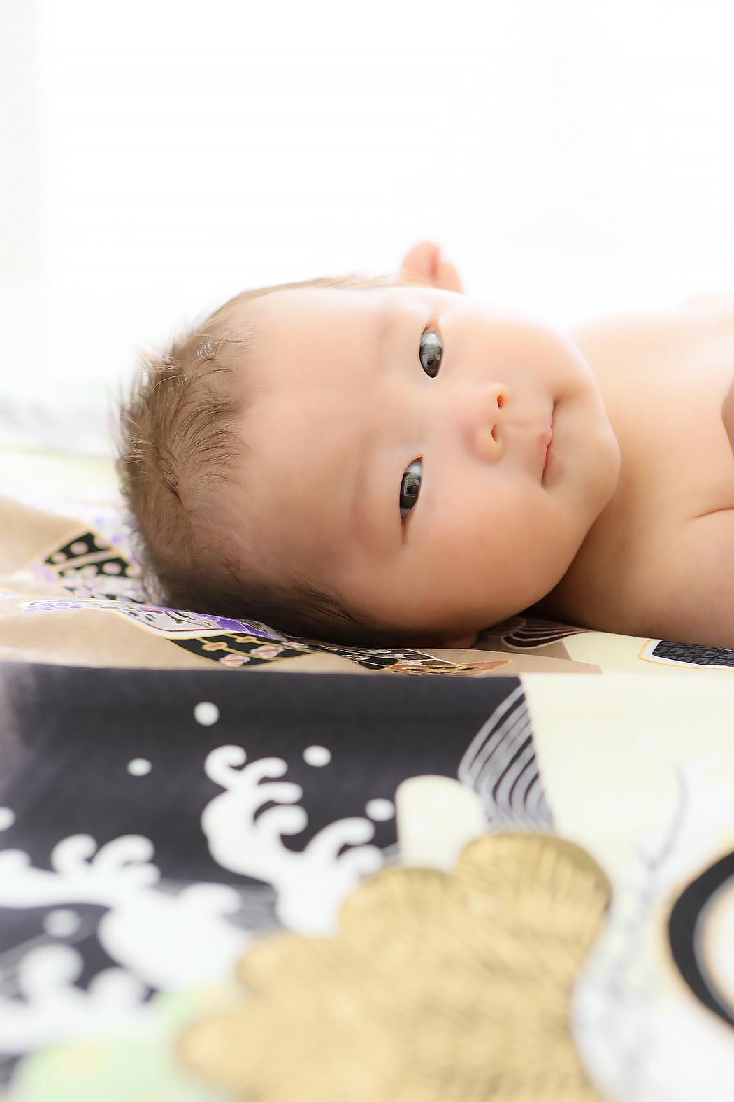 お宮参り,着物,赤ちゃん