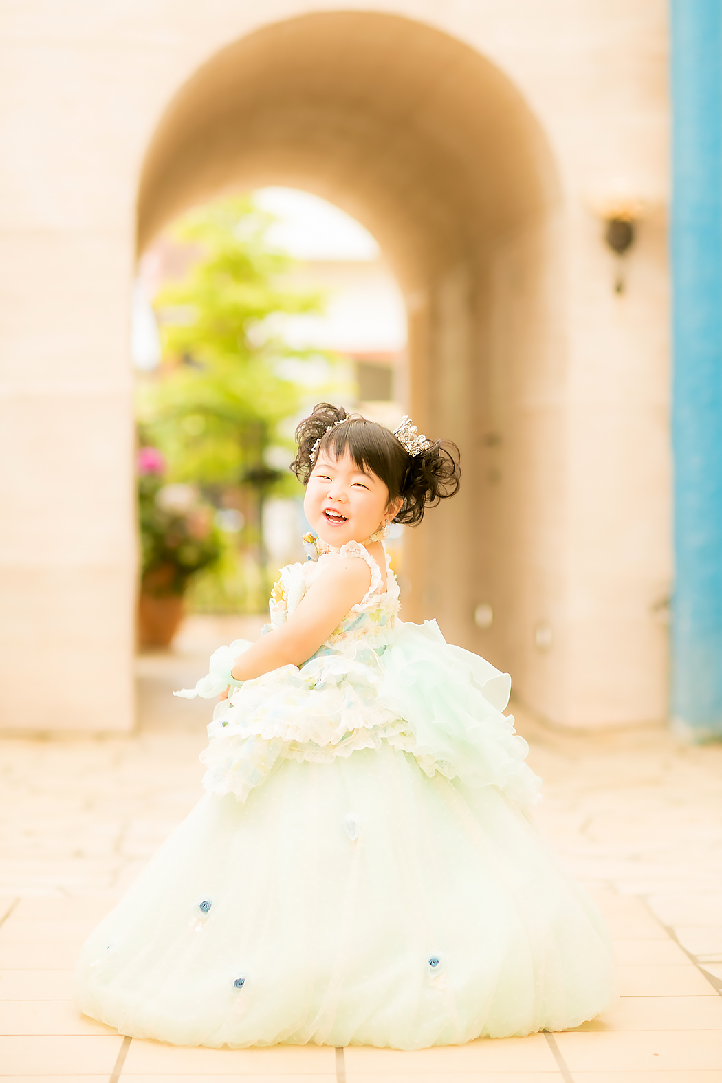 七五三,3歳,ドレス