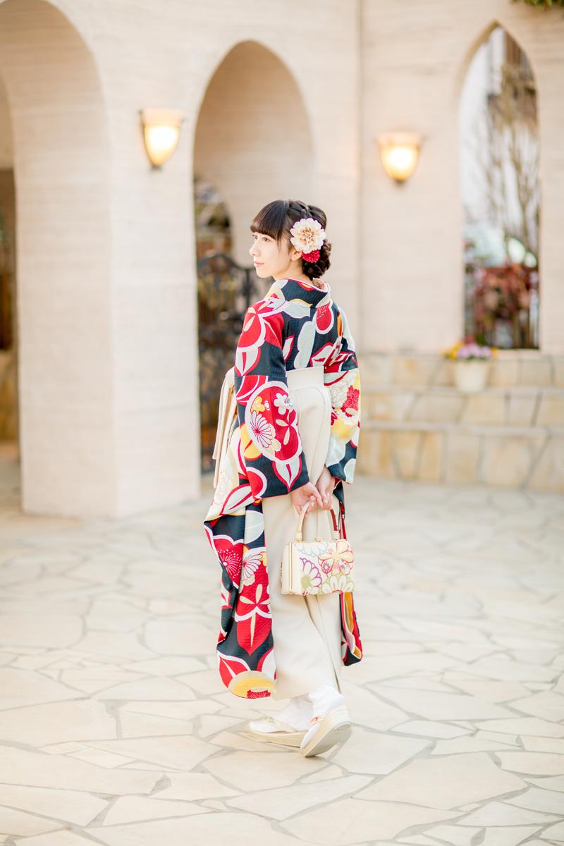 卒業式,袴,ヘアスタイル,飾り,髪型