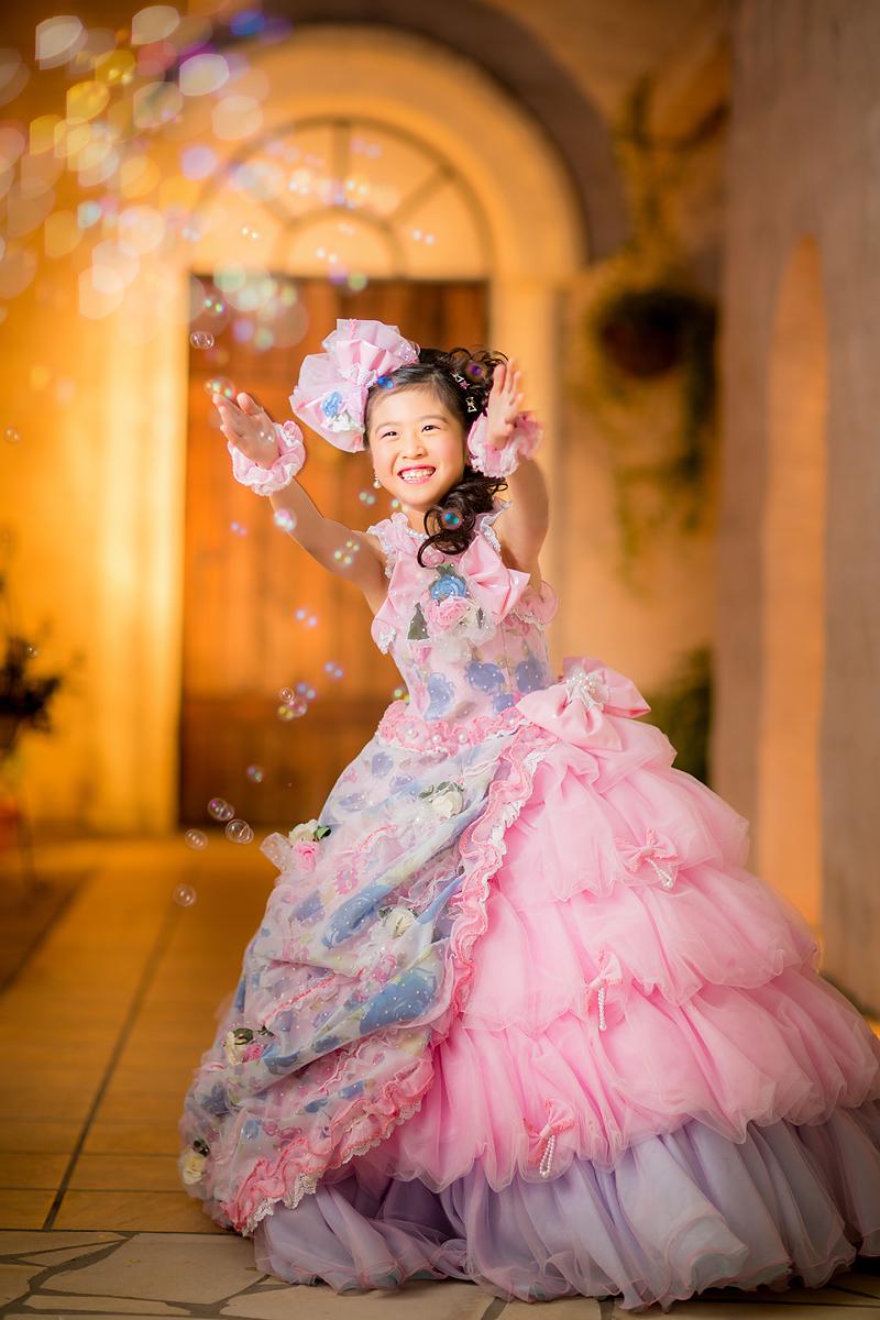 七五三、7歳、ドレス
