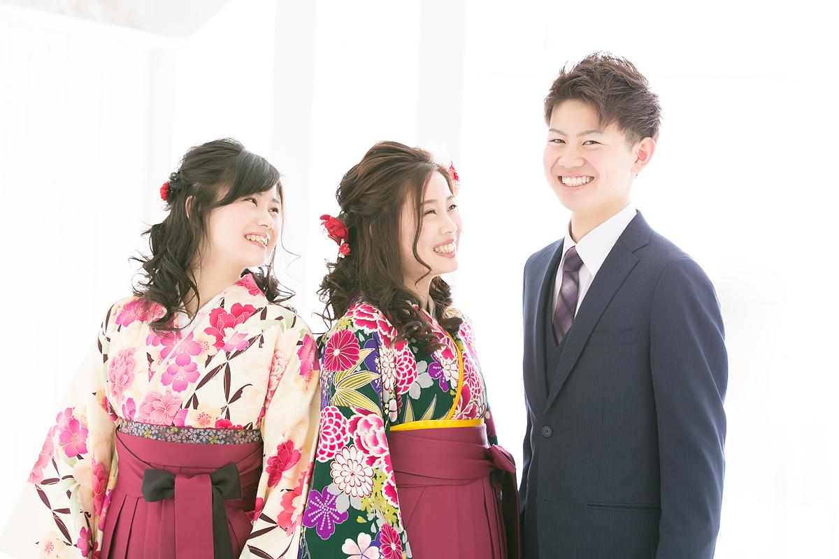 卒業 袴 美人