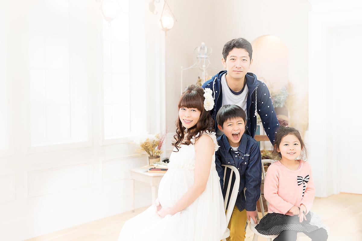 家族写真,マタニティ,マタニティフォト,記念写真