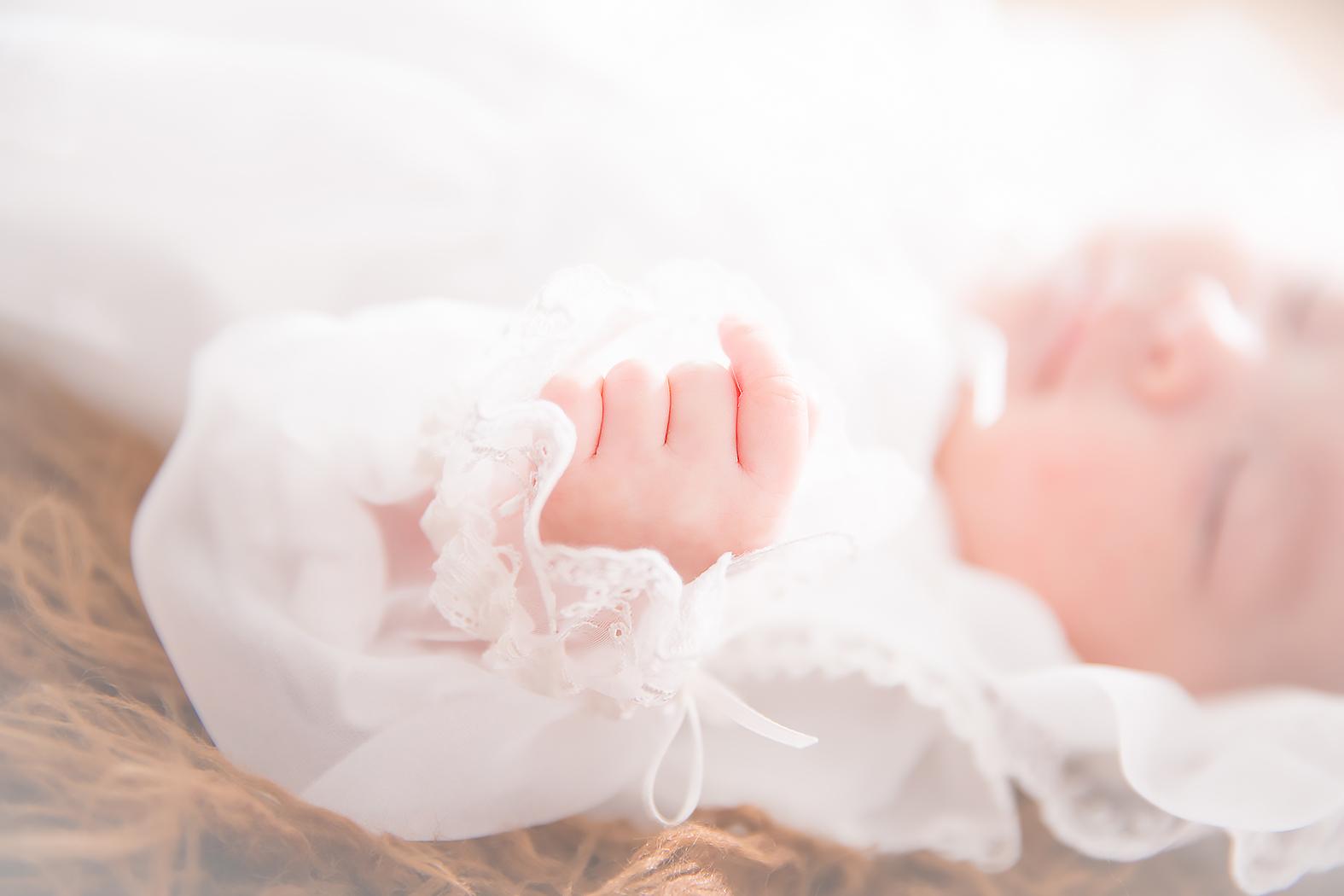 お宮参り,赤ちゃん,家族写真,ベビードレス