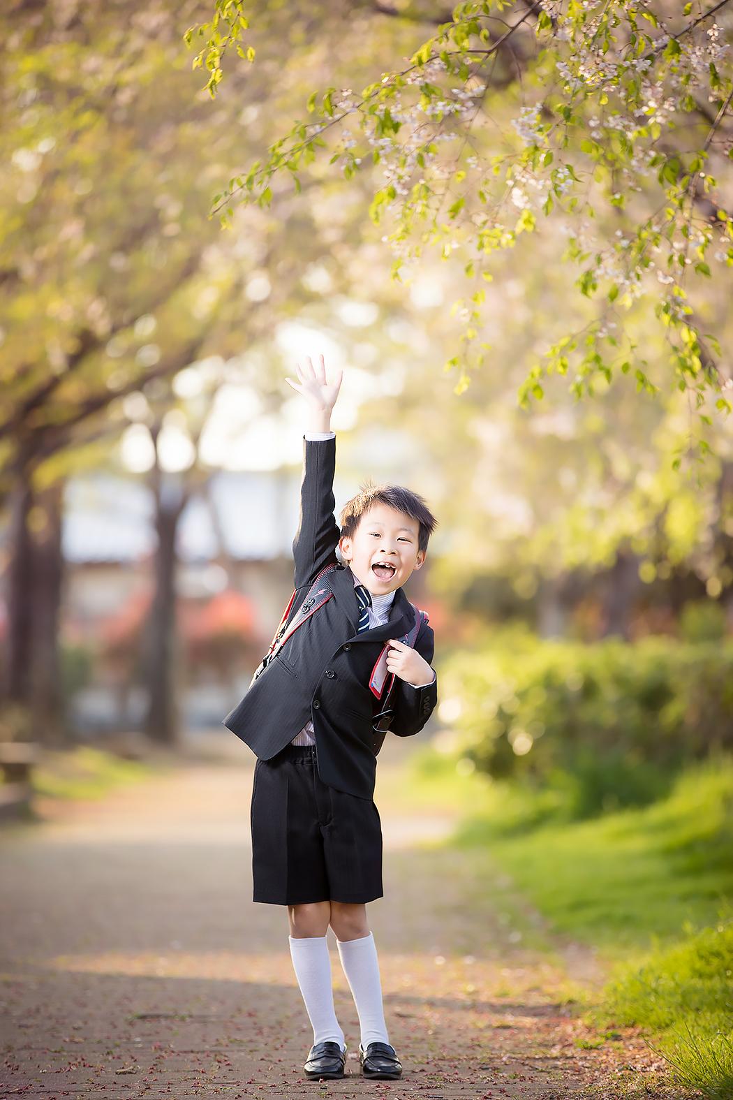 入学記念,入学式,記念写真,1年生