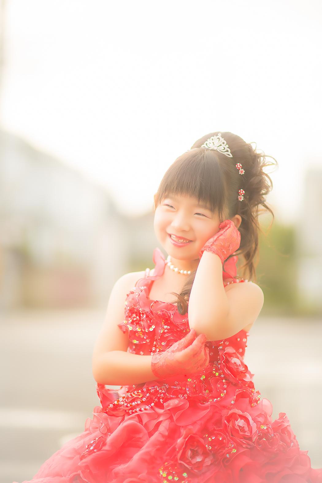 七五三,7歳,ドレス