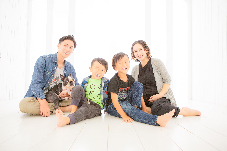 記念撮影、家族写真、ペット