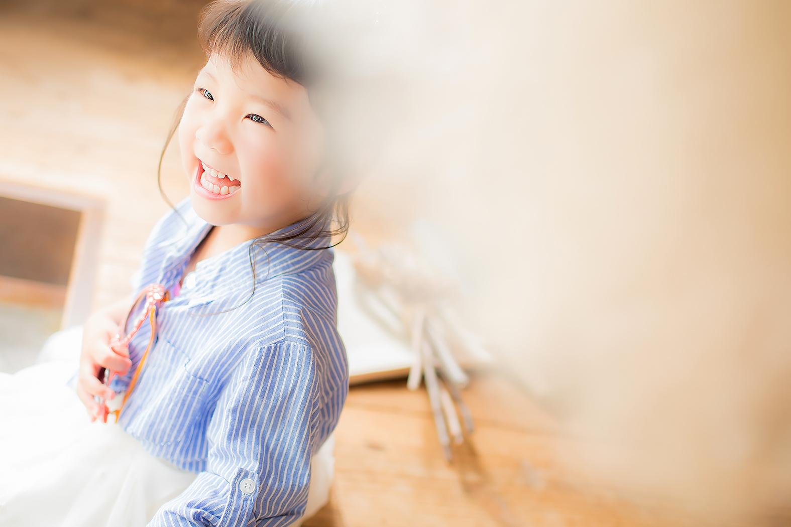 七五三,前撮り,3歳,カジュアル服