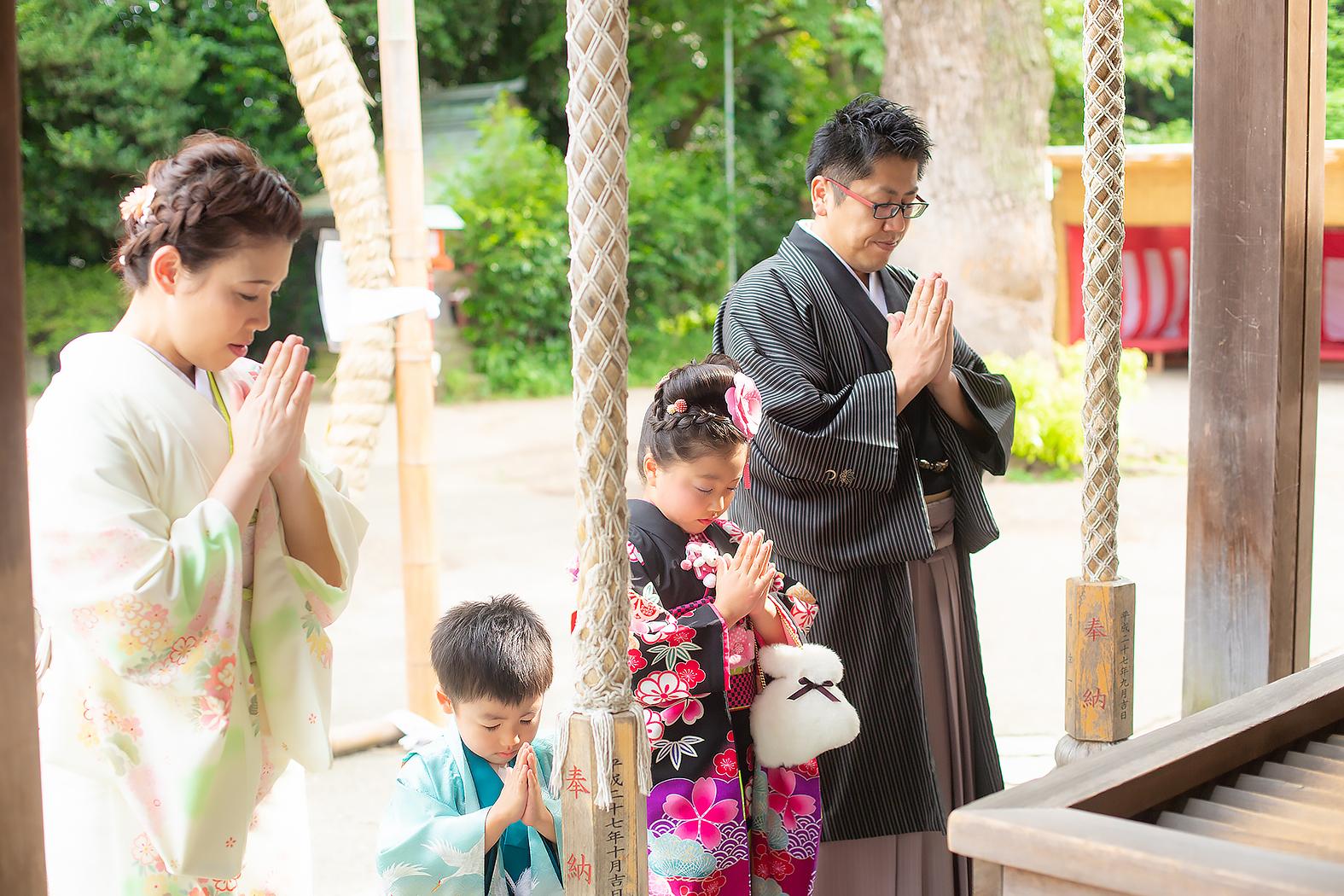七五三,神社ロケ,5歳,7歳
