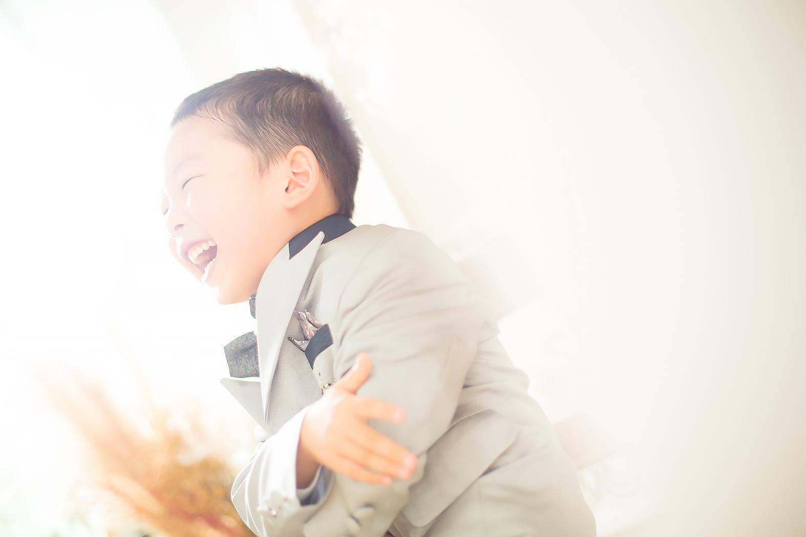七五三,5歳,前撮り,男の子,タキシード
