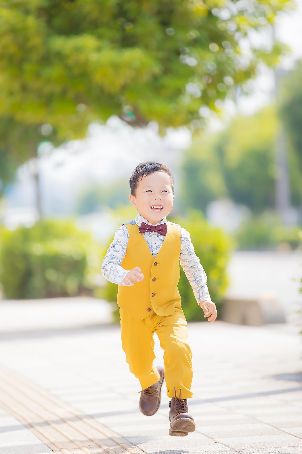 七五三,前撮り,5歳,着物,タキシード