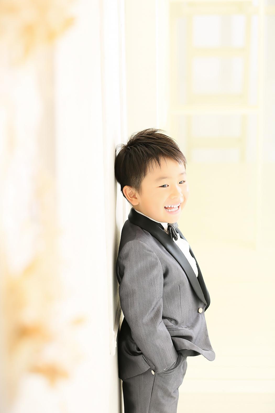 七五三,5歳,タキシード,前撮り