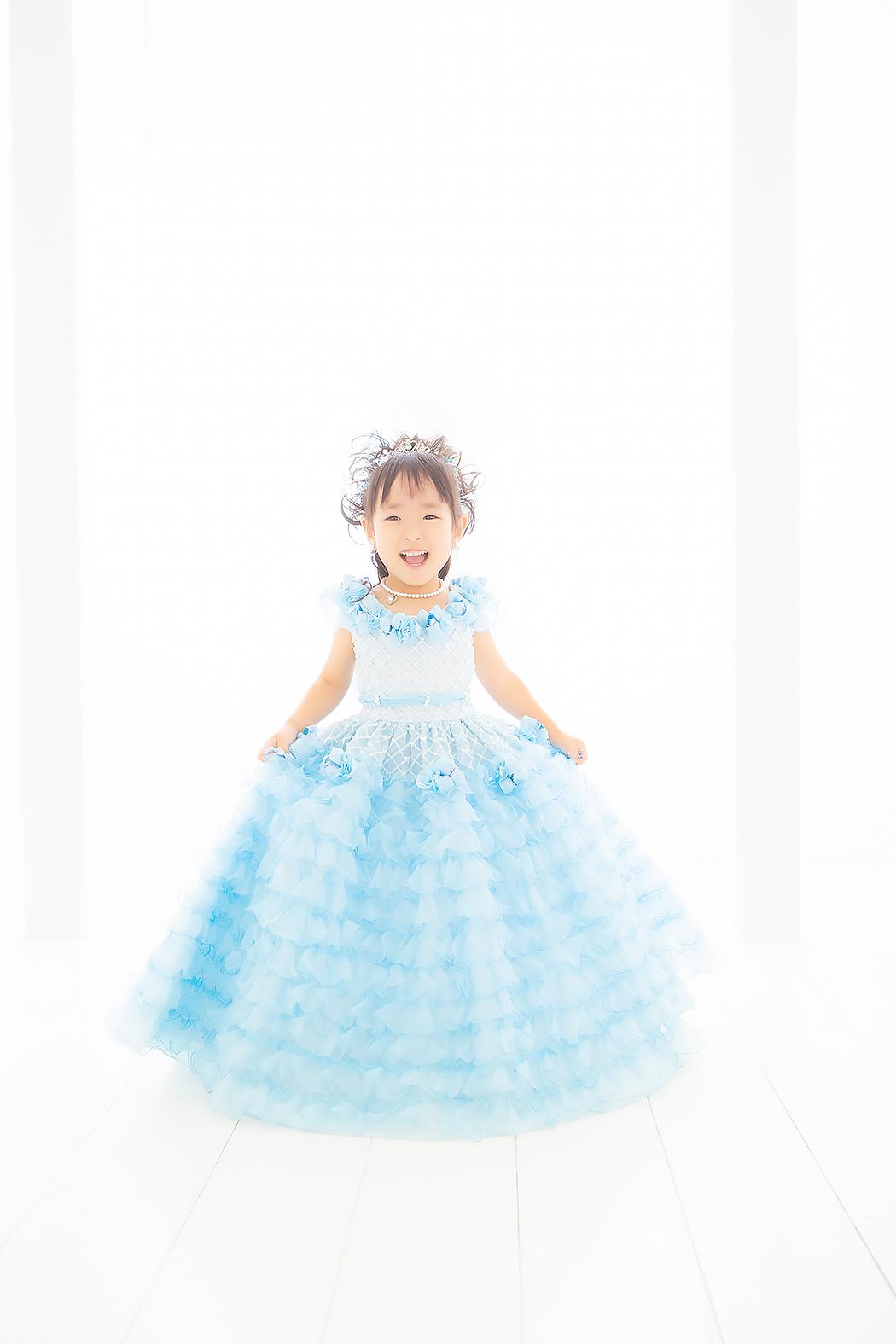 七五三,三歳,ドレス