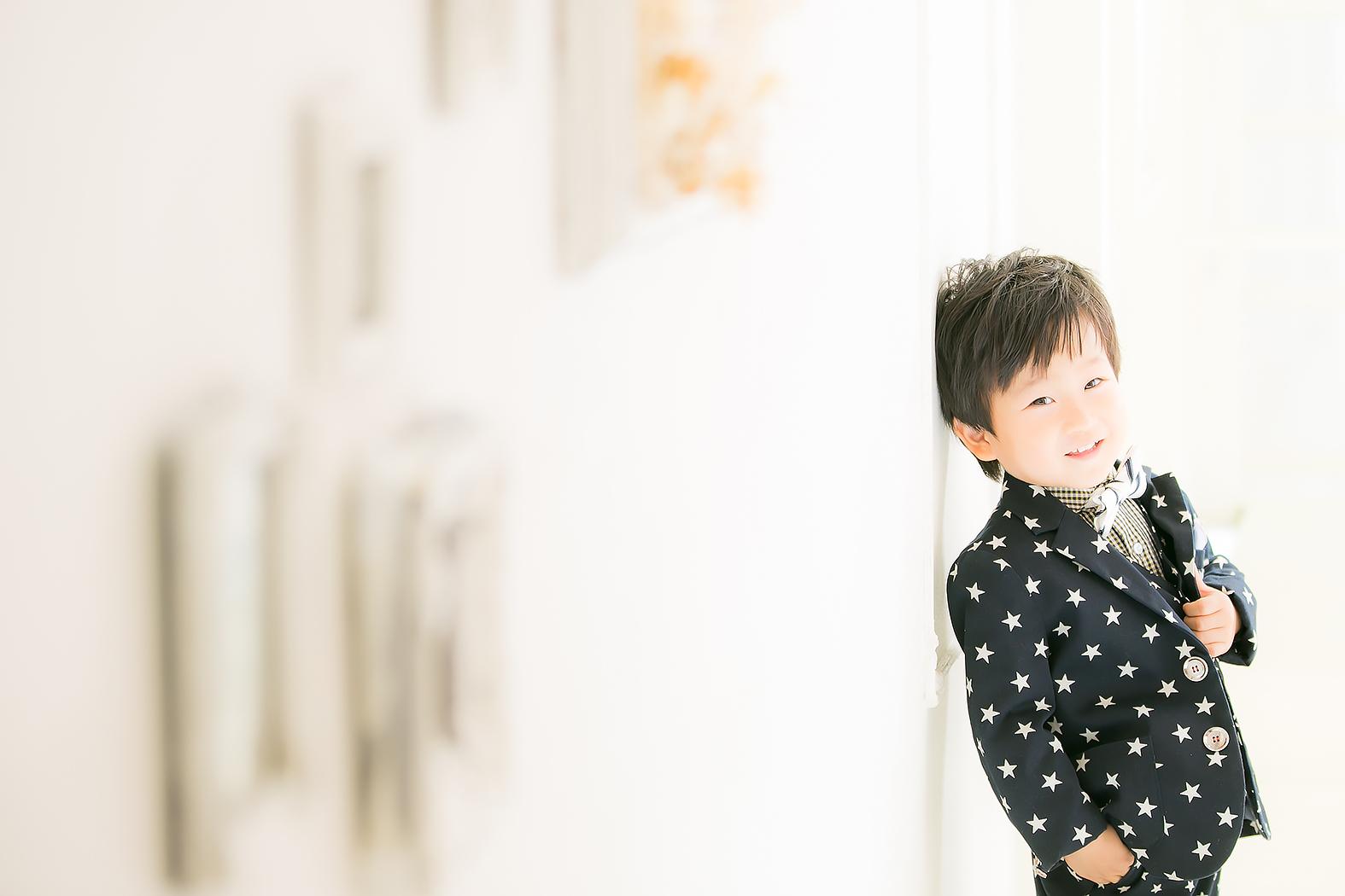 七五三,5歳,タキシード