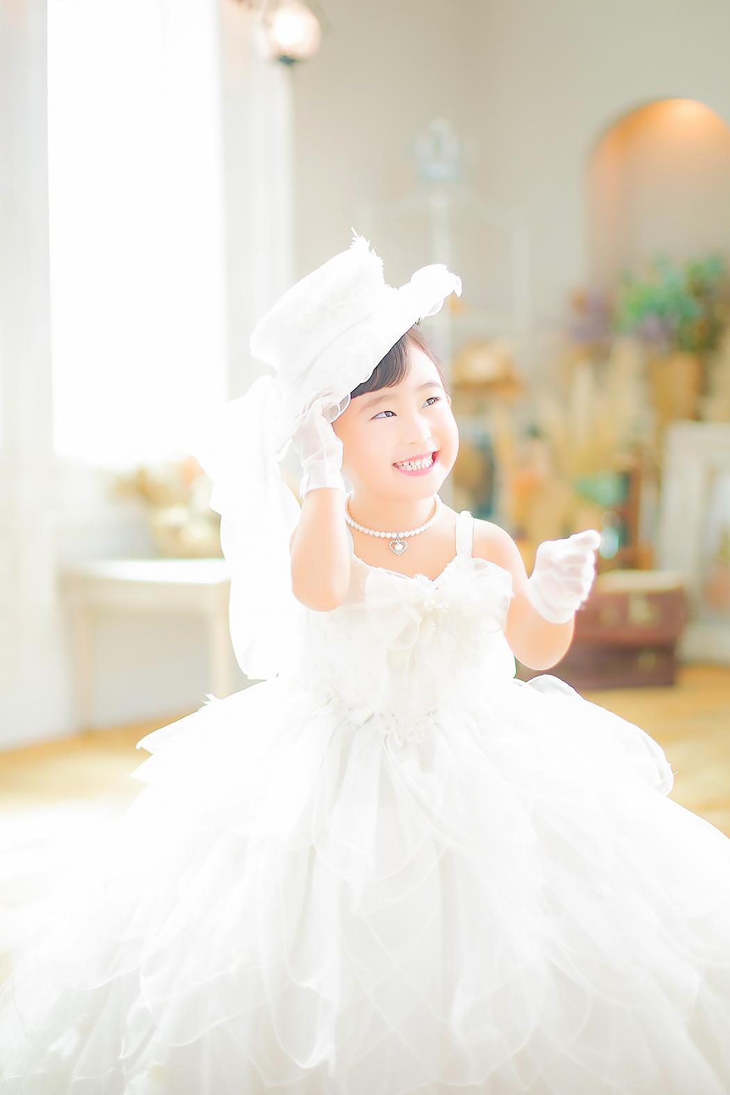 七五三,前撮り,3歳,ドレス