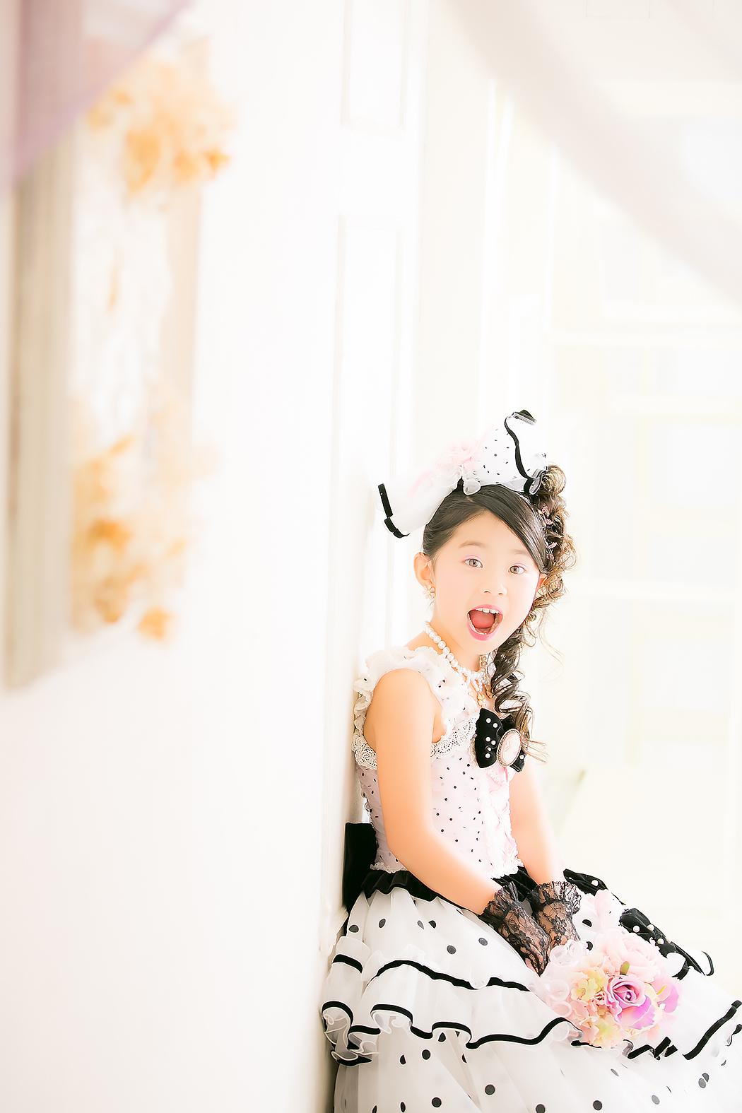 七五三,ドレス,7歳