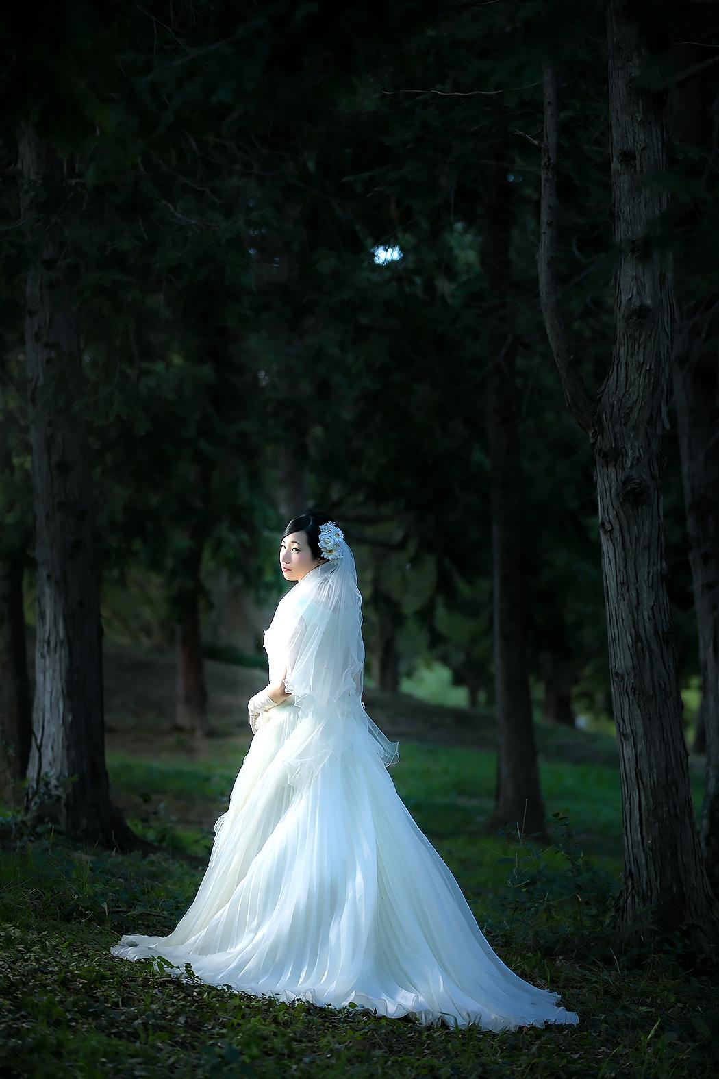 フォトウェディング,ドレス,ロケーション撮影
