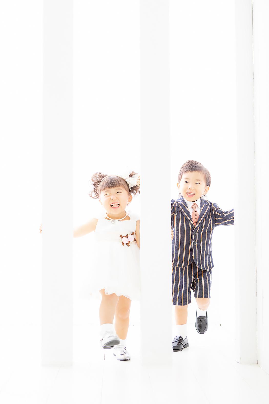 兄妹 タキシード ドレス