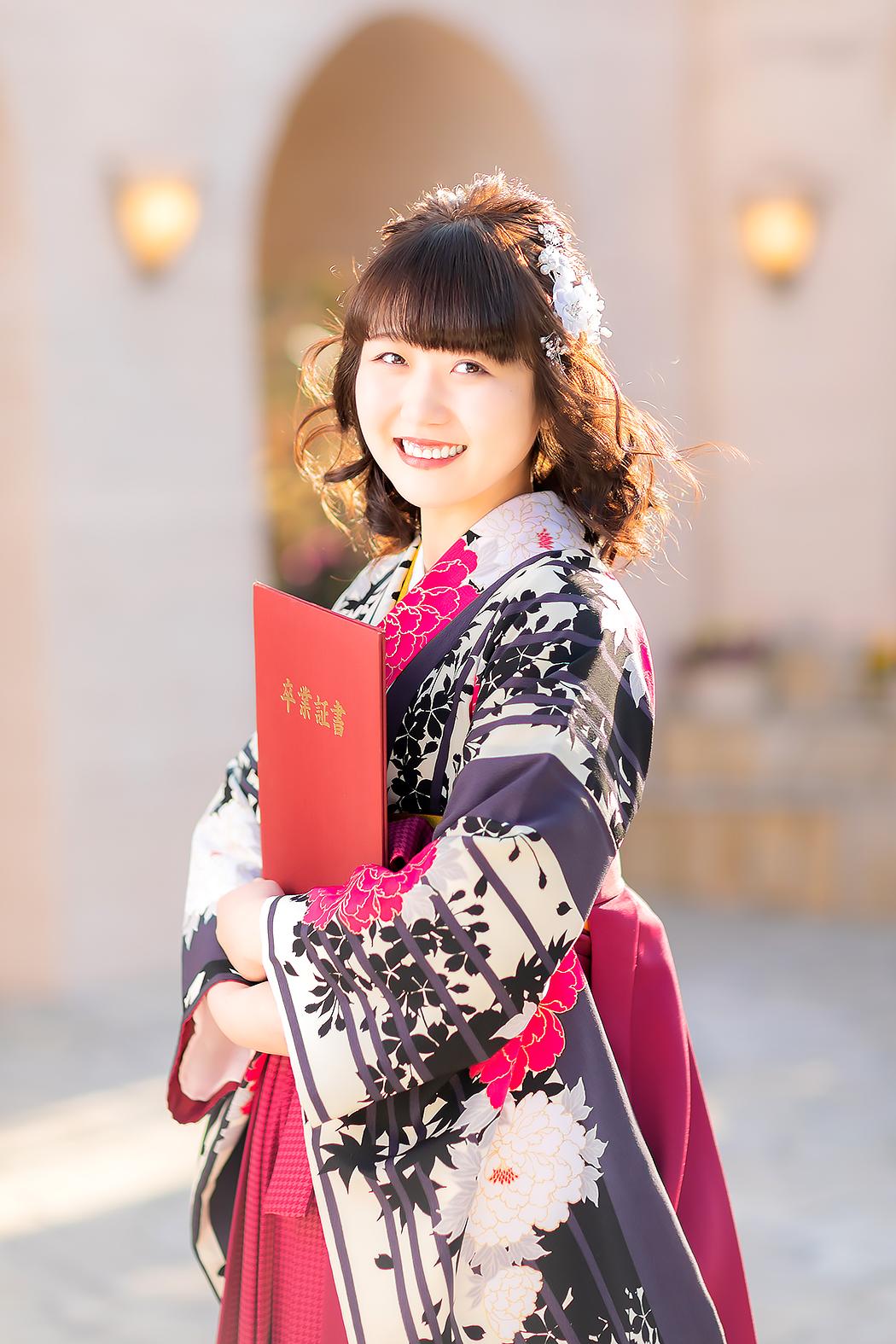 袴,卒業,卒業袴,卒業式