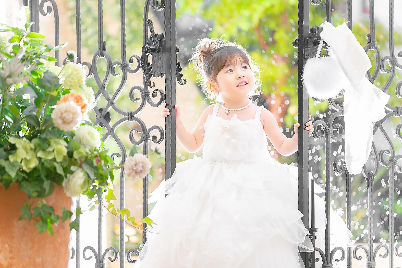 3歳,ドレス,雨,可愛い