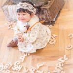 1歳記念,かわいい,カジュアル服,持ち込み衣装
